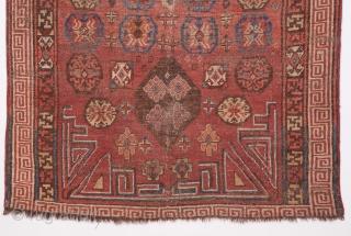 Khotan Rug Fragment 116 x 288 cm / 3'9'' x 9'5''