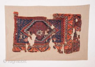 East Anatolian Rug Fragment 70 x 115 cm / 2'3'' x 3'9''