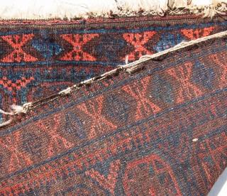 Baluch Bagface 87 x 74 cm / 37 x 34 inches