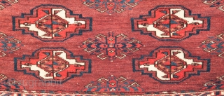 Turkmen Yomud Torba 36 x 72 cm / 1'2'' x 2'4''