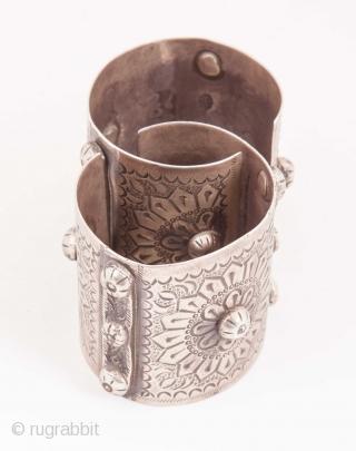 Egyptian Silver Bracelets  1930's