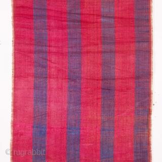 Uzbek Silk Velvet Panel   33 x 116 cm / 12.99 x 45.67 inches 19th C.