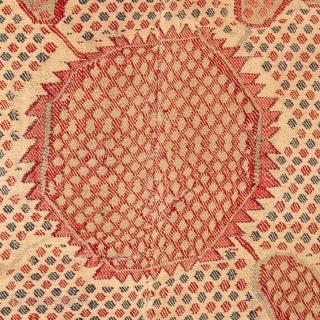 Indian Kashmir Shawl 19th C. 106 x 202 cm / 3'5'' x 6'7