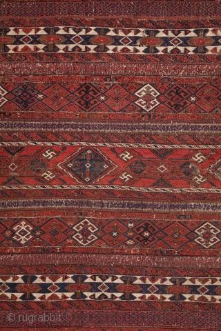 Baluch Sumak Kilim     5'1'' x 9'2'' /157 x 280 cm