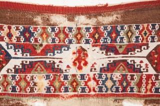 Anatolian Kilim Fragment 83 x 99 cm / 2'8'' x 3'2''