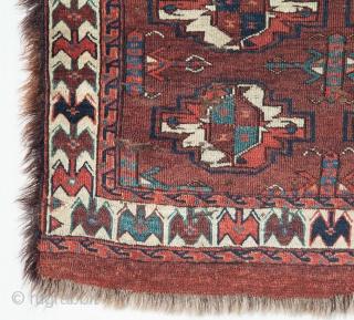 Turkmen Yomud Chuval 63 x 100 cm / 2'0.8'' x 3'3''