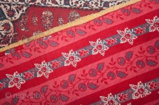 Persian Quilted Qalamkari Hanging 89 x 127 cm / 2'11'' x 4'2''