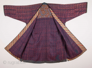 Tajik Brocaded Chapan 19th C.