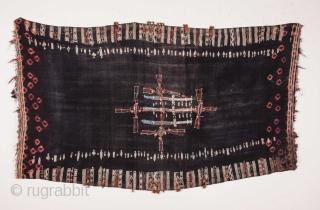 Tunisian Shawl 112 x 190 cm / 3'8'' x 6'2''