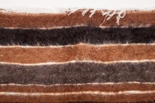 Anatolian Goat Hair Siirt Blanket 130 x 190 cm / 4'3'' x 6'2''