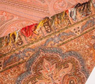European Paisley Shawl 160 x 333 cm / 5'5'' x 10'11''