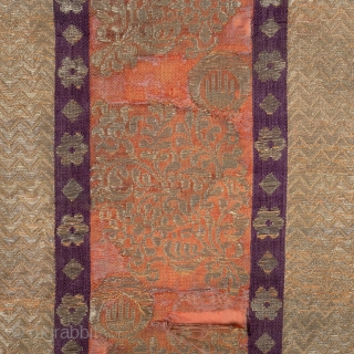 Moroccan Brocade Panel in found condition