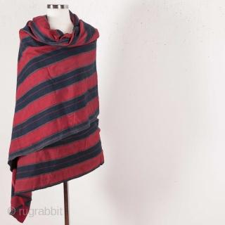 Silk And Cotton Shawl , Waziri   size: 160 x 214 cm / 7'0'' x 8'6''