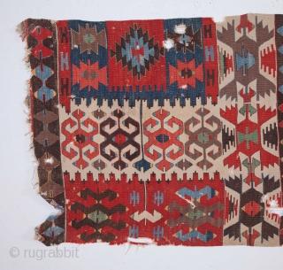 Anatolian Kilim Half 87 x 345 cm / 2'10'' x 11'3''