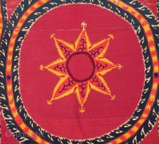 Central Asian Tashkent Suzani 202 x 265 cm / 6'7'' x 8'8''