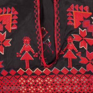 Syrian Bedouin Dress with Figures