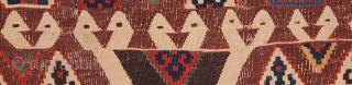 Eastern Anatolian Kilim Fragment  105 x 312 cm / 3'5'' x 10'2''