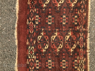 Collectible Yomud torba with natural colors and interesting design, 42x102cm Good condition , complete in size see images