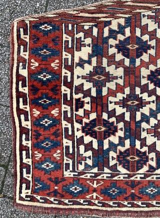 Turkmen Yomud group asmalyk, 72x118cm - Sartirana Textile Show in Turin - from 21st to the 25th October 2020 - together with apart Antiques Fair, #karlsruhe #suedliche_waldstrasse #antiquerugs #antiquekilim #islamicart #interiordesign #decoratifart  ...