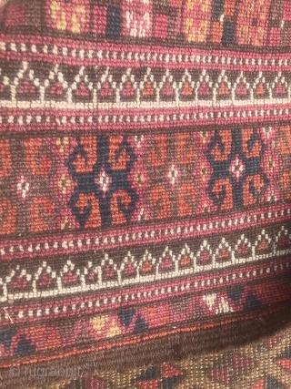 Turkmen-Teke ?, antiquary 110 X 210 cm.