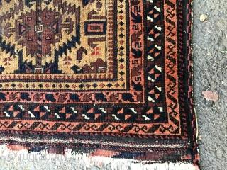 Antique Baluch Prayer Rug, 80*125  cm.