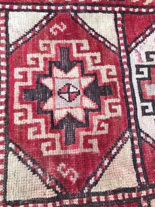 Kazakh or Mogan, fragment, 130X 210.