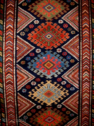 AN NWP LONG RUG WITH SOUTH CAUCASIAN INFLUENCES OR VICE VERSA