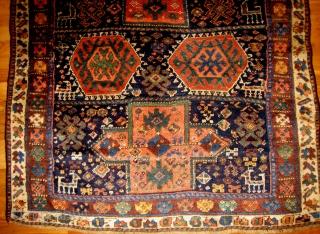 Small Kurdish Main Carpet , about 4x7