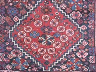 A SWP Rug w 3 medallions