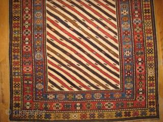Striped Caucasian Rug
