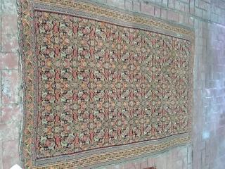 Old beautiful Senneh  kilim