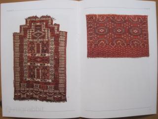 Book: Elmby, Hans. Antikke Turkmenske Taepper V / Antique Turkmen Carpets V, 2003 Rare volume V of this dealer's sales and exhibition catalog of 44 weavings with focus on bags. In total high  ...