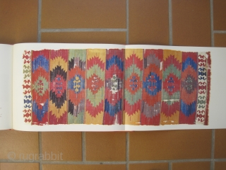"Book: Early Anatolian kilims from the Prammer Collection ""Farbjuwele des Morgenlandes"". Text by Norbert Prammer and Udo Hirsch.