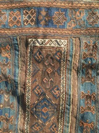 Timuri Baluch Kelim Soffreh with second half 19th century  size 147 cm x 298 cm