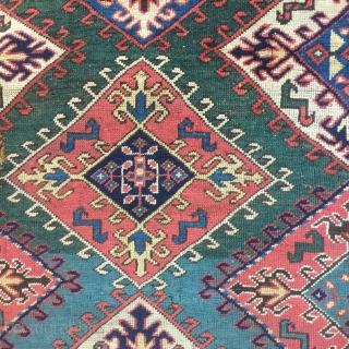 rare & Early 19th century Shuvaler Kazak size 166 cm x 220 cm