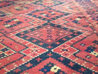 authentic antique Bashir Central Asian fragment 