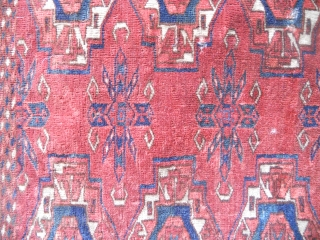 Rar and early Antique 18th.century Tekke Torba fragment      Size 096 cm x 048 cm   please ask for more details  kind regards
