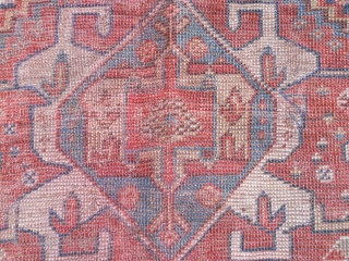 Early S/W Persian Tribe Maincarpet Fragment  if you have questions you are welcome ......