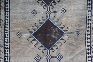 antique  nomadic persian camelhair lori or qashgai gabbeh  late 19th century
