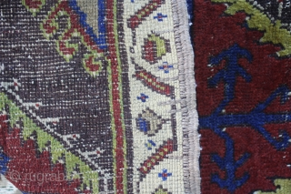 Central Anatolian end of 19th century Yastik  very good condition ,no repairs size cira 