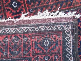 Balouch Persia Torbat-i-Haidariyeh   full pile , clean,...     Size : 34.6 inches x 65.7 inches       (167 cm x ca.88 cm )