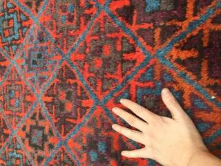 Afghanistan baluch mid 20thc  Size 180 cm x 123 cm