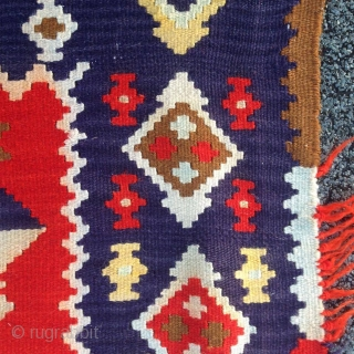 Central Europe 1890-1905   antique Vojvodina Banat tapestry , kilim
