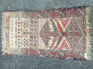 Chador Turkmen tent band fragment age before 1880  Please ask