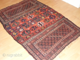Antique  Luri  Bachtiari  19 th century  125 X 180  cm