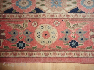 Antique  and very fein  Täbris about  1900 , 150 X 215  cm.
