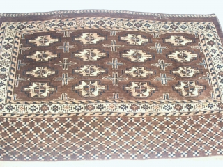 Superb  antik  Yomud  Chowal  Turkemen 72 X 116  cm