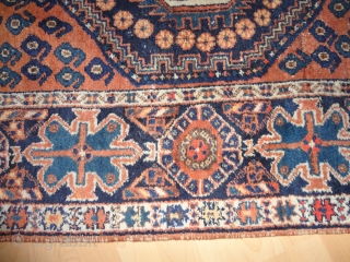 Antique   Afshari   150 X 210  cm  Natural  Colors