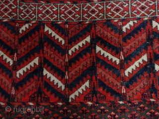 Antique  Tekke  Hatshlu  122 X 155  cm.  Natural  Colors ,
