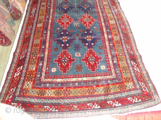 Superb  extremly  fine  woven  antique  shirwan  about  1900 ,